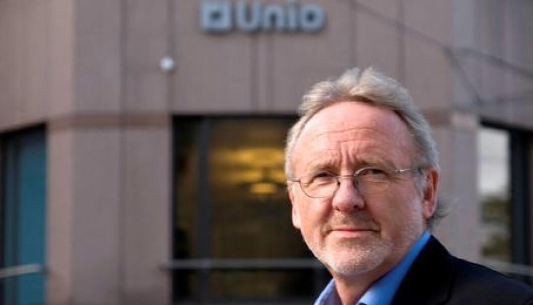 Radiografene er en sterk faglig gruppe som vil gi Unio en enda større bredde, mener Anders Folkestad. Foto: Unio
