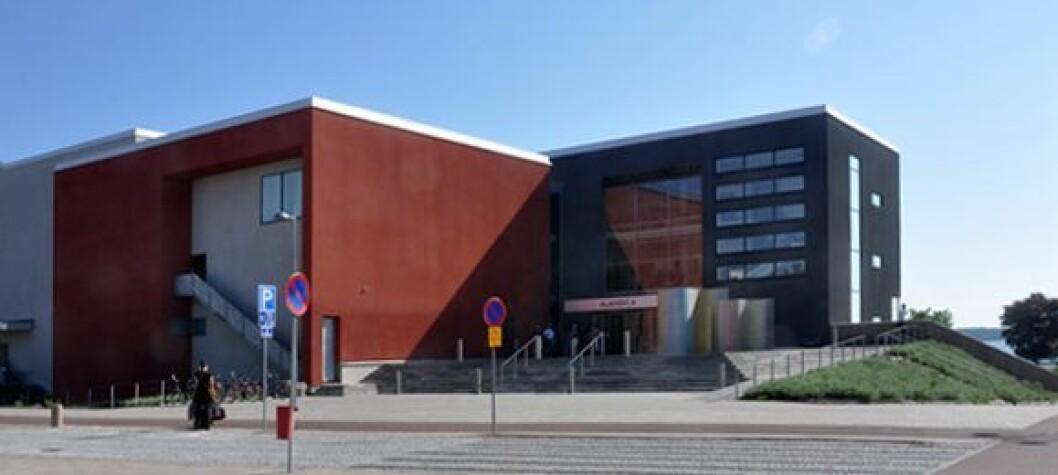 Kongressbygget på Mariehamn, Åland, som var vertssted for årets nordisk kongress. Neste by ut er Bergen, i 2013.  Foto: Tommy Berglund
