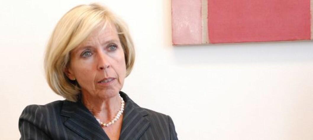 Helseminister Anne-Grete Strøm-Erichsen. Foto: Arbeiderpartiet