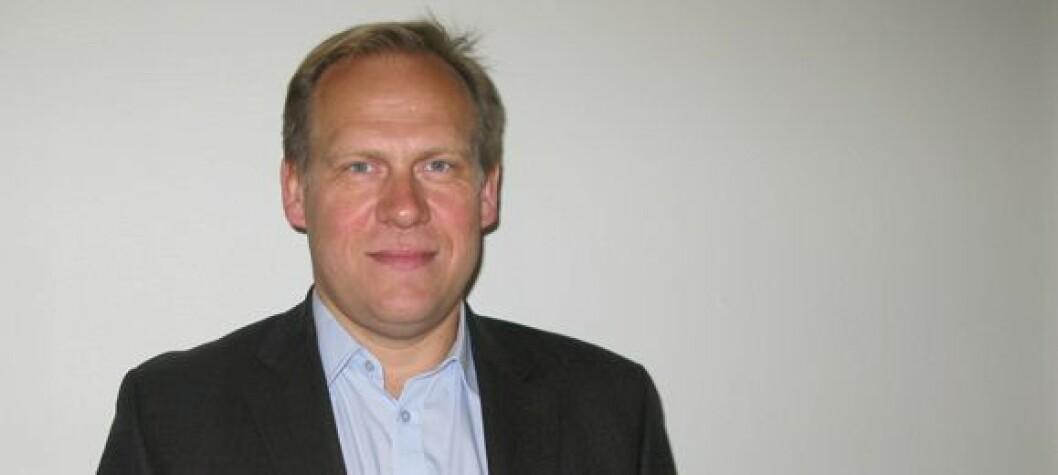 – Jeg har allerede fått et meget positivt inntrykk av organisasjonen, sier Jon Anders Henriksen, som tiltrer jobben som daglig leder i Norsk Radiografforbund 16. januar 2012. Foto: Håkon Hjemly
