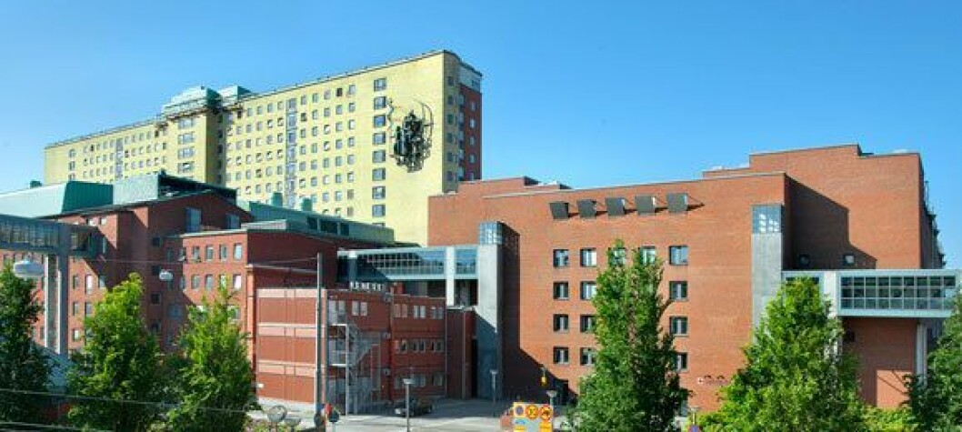 Sahlgrenska Unversitetssjukhuset i Gøteborg søker utenlands for å få nok radiografer. Foto: Sahlgrenska Universitetssjukhuset