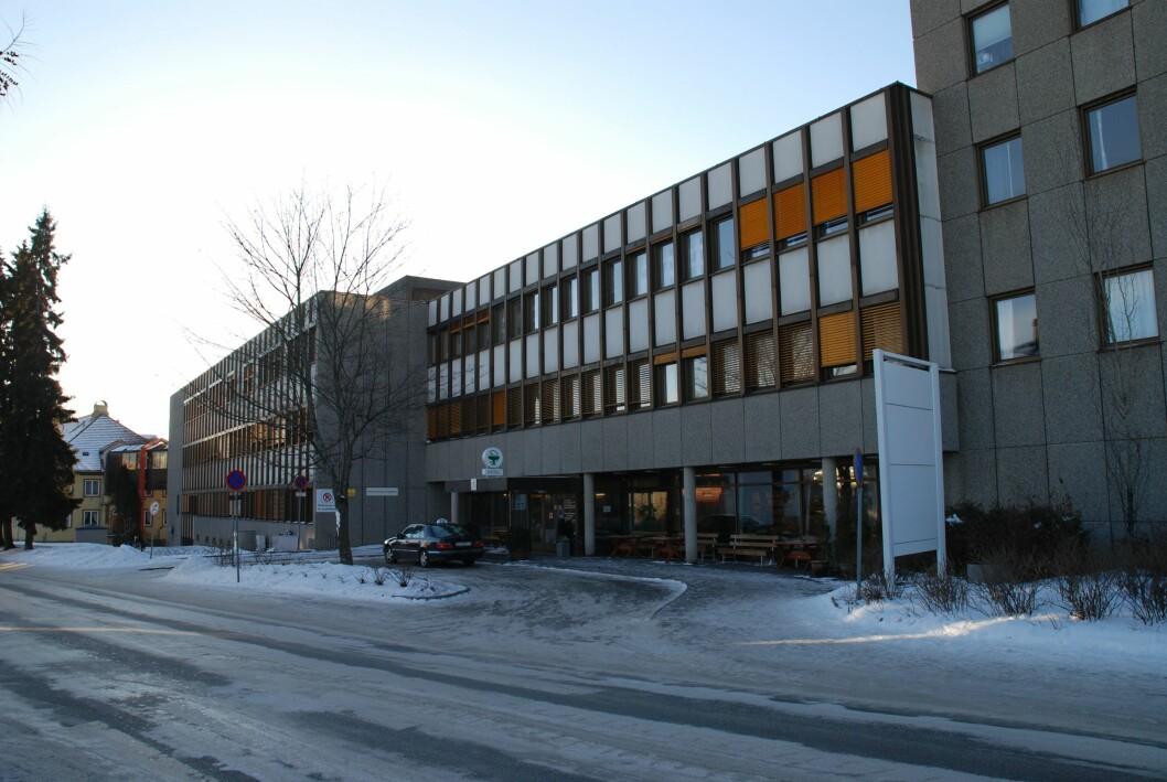 Det nye RIS/PACS-systemet ved Sykehuset Innlandet er lite intuitivt og upålitelig, ifølge radiografer ved Sykehuset Innlandet, her representert ved Hamar sykehus. FOTO: THOMAS ANDERSEN/WIKIMEDIA COMMONS