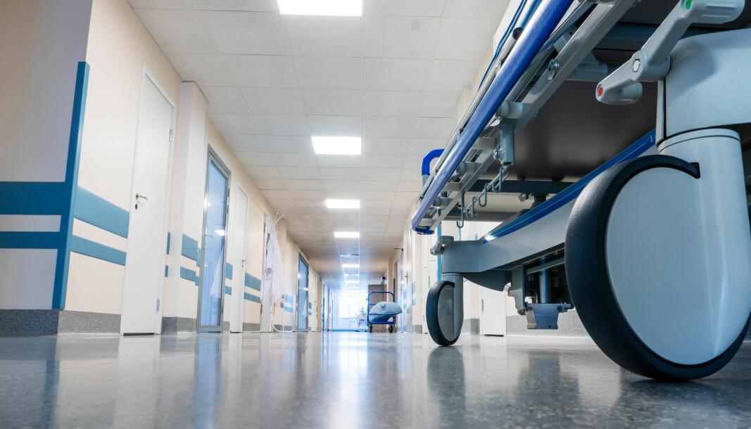 Flere sykehus er berørt av streiken, som tok til fra fredag morgen.